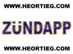 ZUNDAPP TANK AND FAIRING TRANSFER DECAL DZU19-7